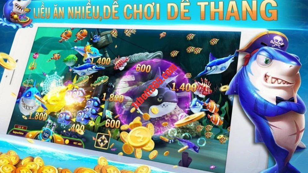 Thế giới bắn cá khổng lồ tại 1xbet